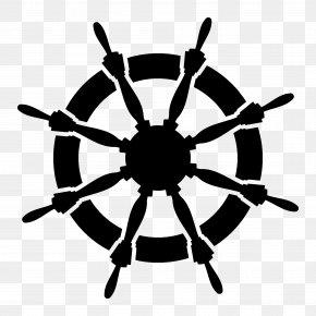 Wall Decal - Ship's Wheel Anchor Clip Art PNG