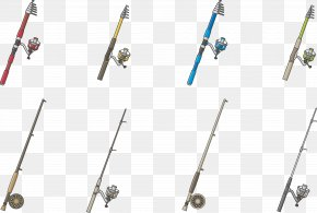 Fishing Rod - Fishing Rod Fishing Tackle Fishing Reel PNG