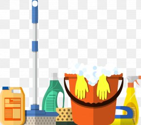 Vector Cleaning Tools - Cleaner Cleaning Housekeeping Maid Service PNG