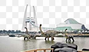 Changzhou Dinosaur Park Long Herbivorous - China Dinosaurs Park Changzhou Universal Dinosaur Castle Leisure Tourist Zone Yancheng Chunqiu Amusement Land U82cfu5ddeu4e50u56ed PNG