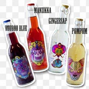 Drink - Birch Sap Drink Glass Bottle Summer Mahla Forest PNG