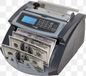 Machine - Currency-counting Machine Counterfeit Money Banknote PNG