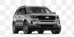 Ford - Ford Motor Company Sport Utility Vehicle Car 2018 Ford Explorer Sport PNG