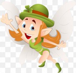 Saint Patrick's Day - Saint Patrick's Day Fairy Clip Art PNG
