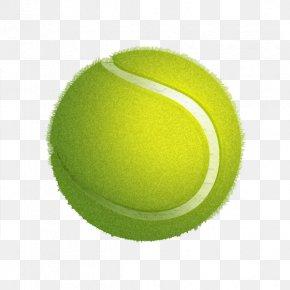 Green Tennis - Tennis Ball Green PNG