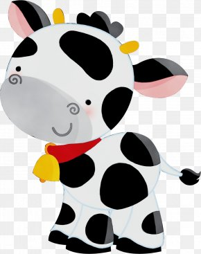 Toy Snout - Dairy Cow Clip Art Cartoon Bovine Animal Figure PNG