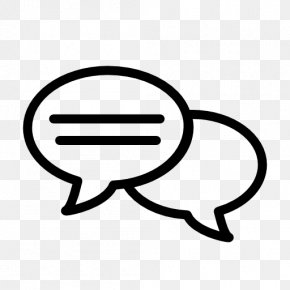 Talking - Speech Balloon Conversation Online Chat PNG