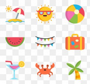 Watercolor Summer - Summer Desktop Wallpaper Clip Art PNG