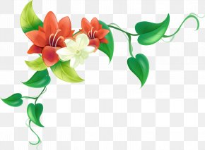 Flower Border - Flower Stock Photography Clip Art PNG