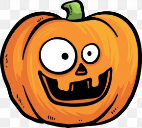 Funny Pumpkin Head Expression Vector Material - Pumpkin Halloween Jack-o'-lantern PNG