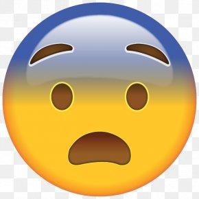 Emoji - Emoji Sticker Emoticon Fear Screaming PNG