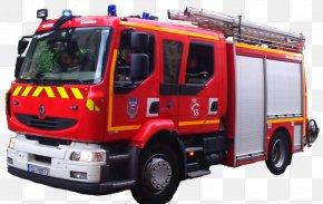 Firefighter - Fire Engine Firefighter Fire Department Water Tender Renault PNG