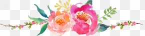 Flower - Floral Design Watercolor Painting Flower Logo Floristry PNG
