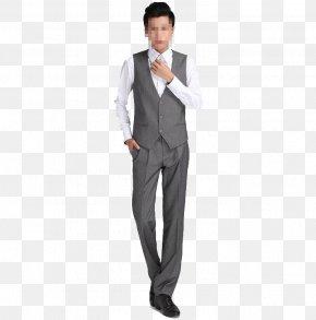 Suit Show - Tuxedo Suit Trousers Necktie PNG