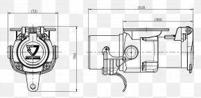 Technical Drawing - Adapter AC Power Plugs And Sockets Drawing Technical Standard PNG