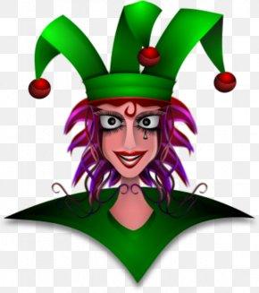 Evil Queen Cliparts - Harlequin Jester Cap And Bells Clip Art PNG