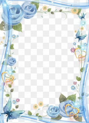 BLUELOVER Frame - Quinceañera Picture Frame Photography Party Birthday PNG