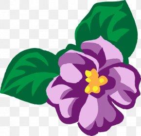 Violet Cliparts - African Violets Purple Clip Art PNG