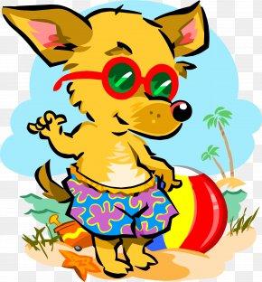 Picnic - Beach Dog Pet Clip Art PNG