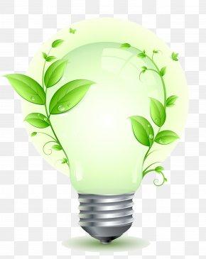 Energy - Energy Leaf Flowerpot PNG