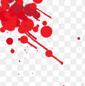 Dots Splashed With Blood - Blood Splatter Film Clip Art PNG