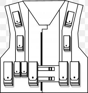 Vest - Drawing Clothing Bullet Proof Vests Gilets Bulletproofing PNG