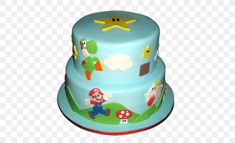 Surprising Birthday Cake Torte Super Mario Bros Cake Decorating Png Funny Birthday Cards Online Bapapcheapnameinfo