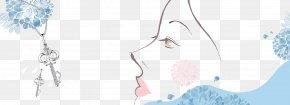 Woman Avatar - Fashion Accessory Pattern PNG
