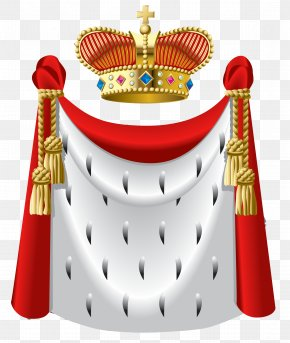 King Crown And Cape Clipart - Robe Crown King Clip Art PNG