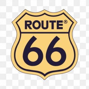 Route - U.S. Route 66 Sticker Decal Travel Road PNG
