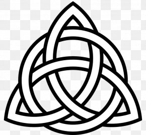 Triangle Symbol - Celtic Knot Symbol Triquetra Hope Celts PNG
