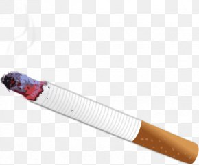 Thug Life Cigarette Burning - Cigarette Clip Art PNG