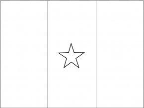 White Flag Picture - Flag Of Cameroon Ausmalbild Flag Of Algeria Flag Of Uruguay PNG