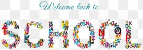 Welcome Back To School Clipart Picture - First Day Of School Student LaGrange Academy Clip Art PNG