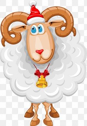 Goat - Goat Sheep Christmas Clip Art PNG
