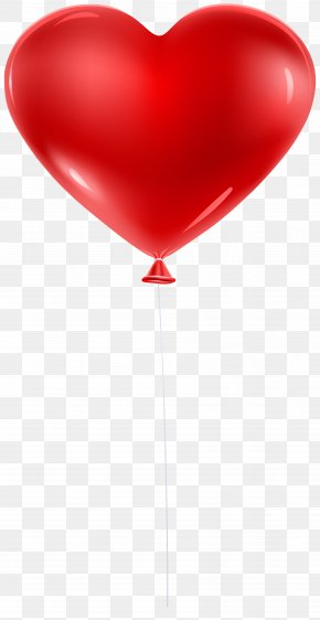 Red Balloon Heart Transparent Clip Art - Heart Cardiovascular Disease Circulatory System Myocardial Infarction Health PNG