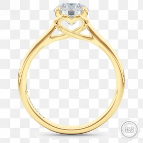 Heart Ring Clipart - Diamond Engagement Ring Gemological Institute Of America Gold PNG