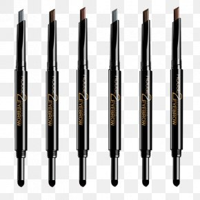 Double-headed Eyebrow Eyebrow Pencil - Eye Liner Eyebrow Cosmetics Lip Liner Pencil PNG