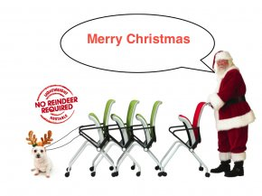 Santa And His Sleigh Pictures - Santa Claus Rudolph Reindeer Christmas Clip Art PNG