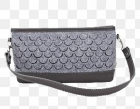 Gray Shoulder Bag Fish Scales - Scale Grey Fish PNG