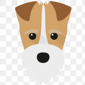 Dog Breed Puppy - Dog Cartoon Nose Snout Puppy PNG