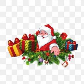 Santa Claus - Santa Claus Christmas Gift PNG