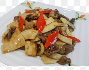 Miscellaneous Mushroom Fried Beef - Vegetarian Cuisine American Chinese Cuisine Caponata Cuisine Of The United States PNG
