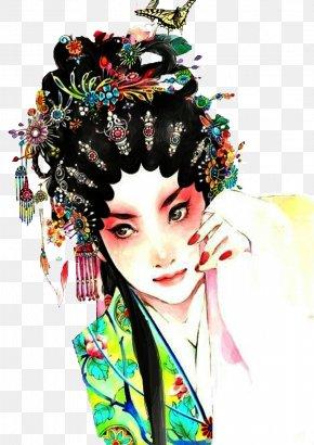Opera Characters - History Of China Chinese Opera Peking Opera PNG