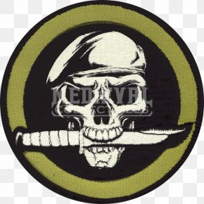 Ghost - Knife Embroidered Patch Military Tactics Hook And Loop Fastener Military Surplus PNG