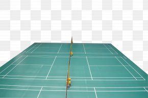 Professional Match Badminton Court - Badminton Download Vecteur PNG