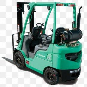 Mitsubishi - Forklift Truck Pallet Jack Diesel Fuel Material Handling PNG
