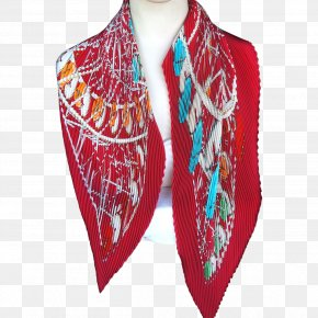 Scarf Shawl Neck Magenta Stole PNG