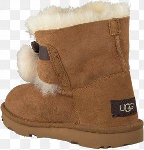 Cognac - Snow Boot Footwear Shoe Fur PNG