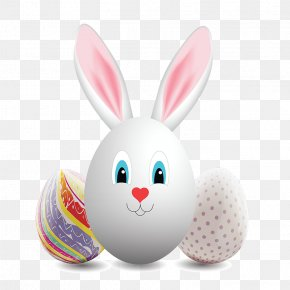Easter Day Rabbit Eggs - Domestic Rabbit Easter Bunny Easter Egg PNG